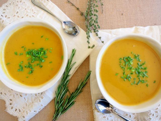 Butternut Squash Soup Recipe - Vegan and Dairy Free