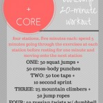 Cardio + Core Burn Bootcamp Workout