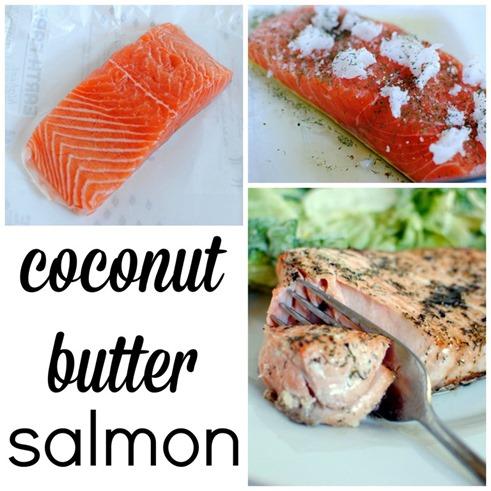 Coconut Butter Salmon