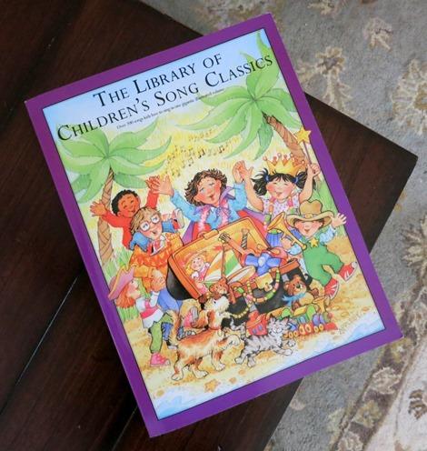 children's song book