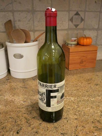 Farrier Presshouse 2010 Wine