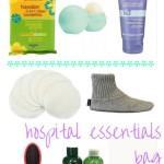 Baby Shower Gift Idea - Hospital Essentials Bag