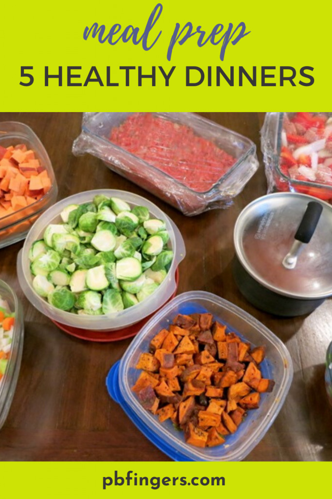 Meal Prep 5 Healthy Dinners