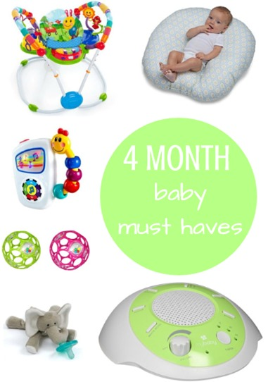 4 Month Baby Must Haves