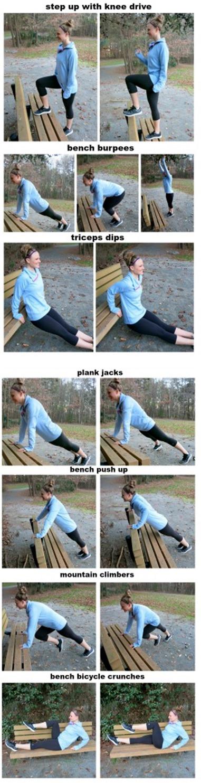 Bodyweight Bench Workout