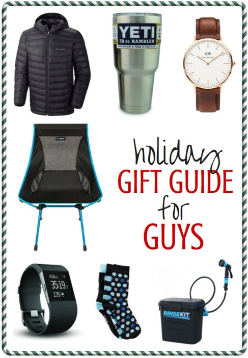 Holiday Gift Guide for Guys