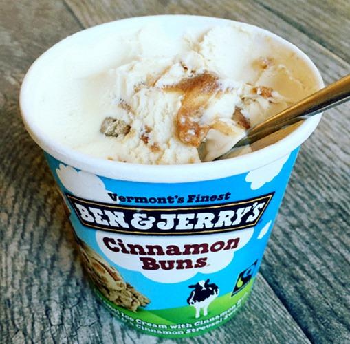 Ben & Jerry's Cinnamon Buns Ice Cream