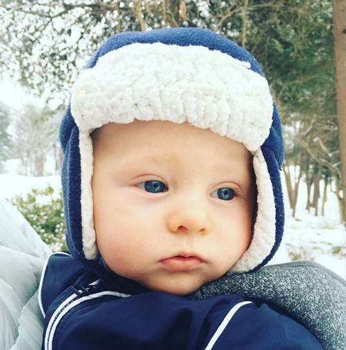 Chase First Snow Day