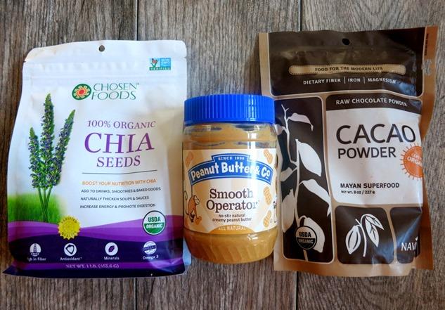 Chia Seed Pudding Recipe Ingredients