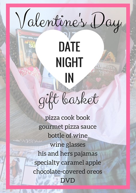 Valentine's Day Date Night Gift Basket