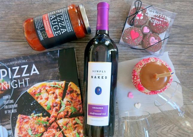 Valentine's Day Gift Idea - Date Night In Gift Basket