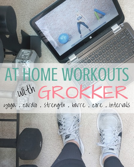 At Home Workouts with GROKKER