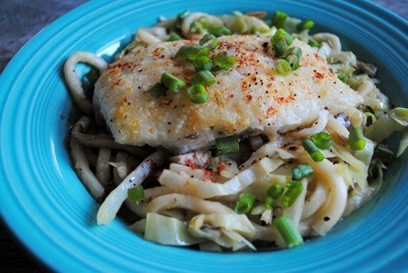Cod and Udon Noodles Blue Apron