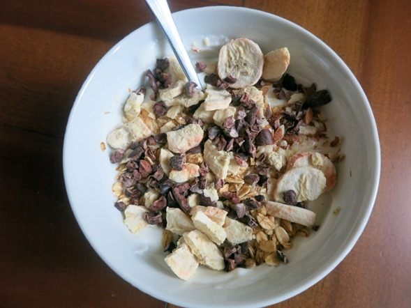Greek Yogurt with Cacao Nibs