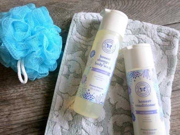 Honest Company Lavender Shampoo and Conditioner
