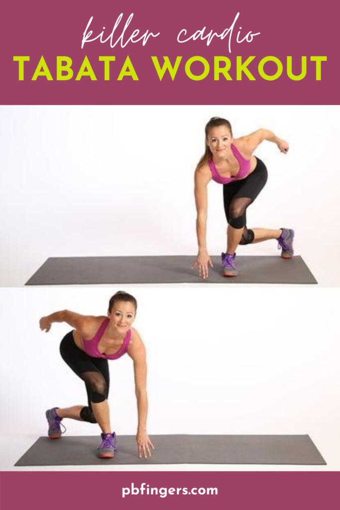 Killer Cardio Total Body Tabata Workout