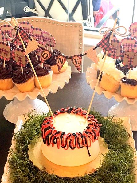 First Birthday Smash Cake