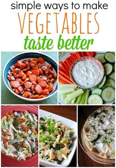 How To Make Vegetables Taste Better