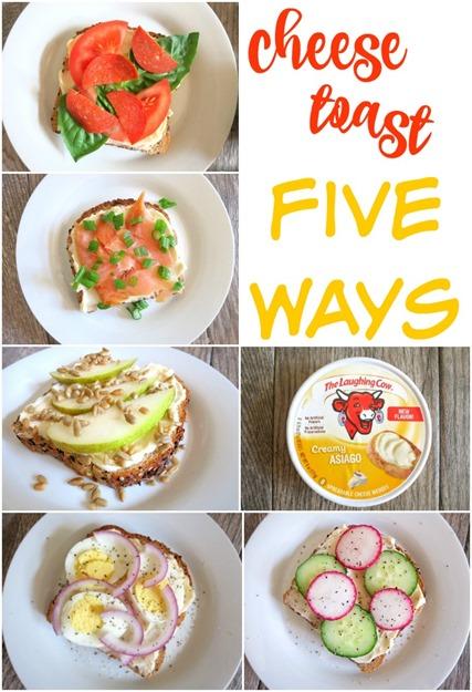 Cheese Toast - Five Ways