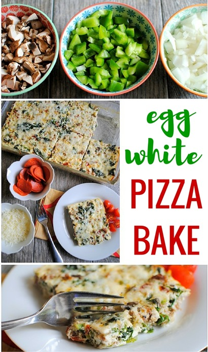 Egg White Pizza Bake