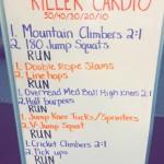 Killer Cardio Workout