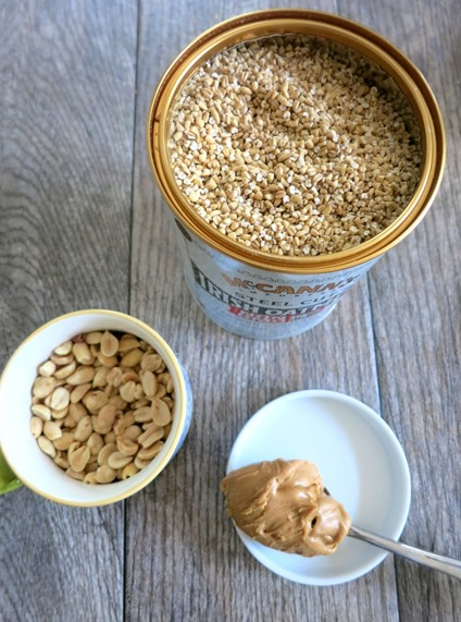 Peanut Butter Baked Oatmeal Ingredients