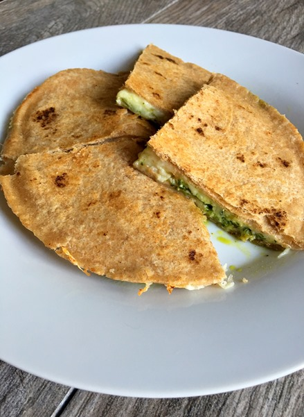 Quesadilla with Chimichurri