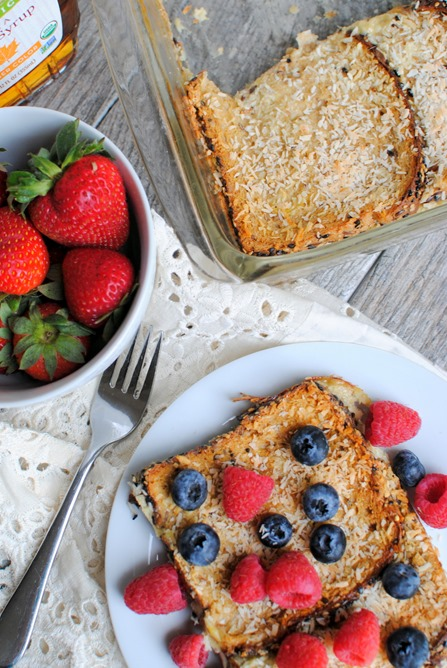 Coconut French Toast Casserole