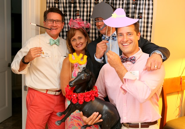 Photo Booth Kentucky Derby Party