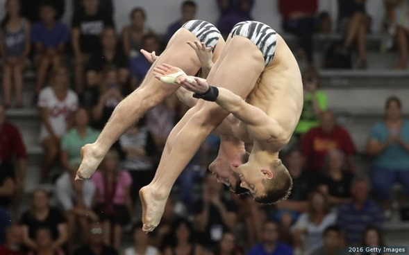 Boudia and Johnson Diving Olympics 2016