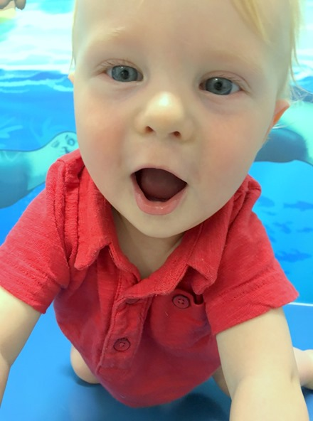 Chase Swim Lesson