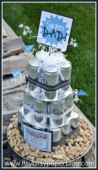 Father's Day Beer Can Cake