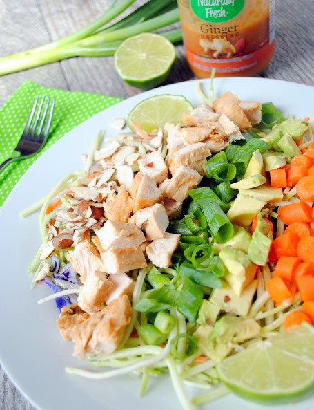 Ginger Chicken Chopped Salad