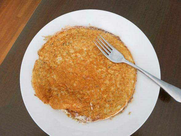 oatmeal protein pancake