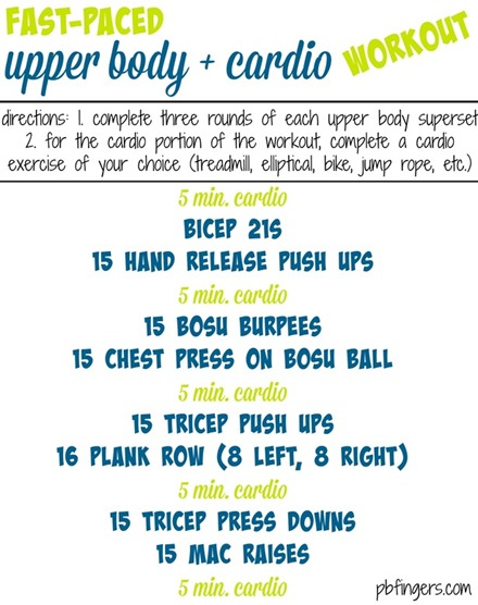 Upper-Body-Cardio-Workout