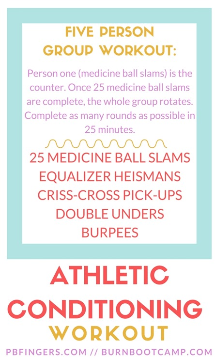 Athletic Conditioning Group Workout