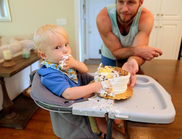 Chase First Birthday Smash Cake