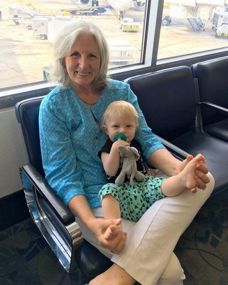 Chase and Grandma