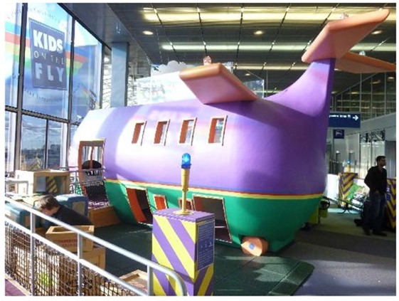Chicago OHare Kids Play Area