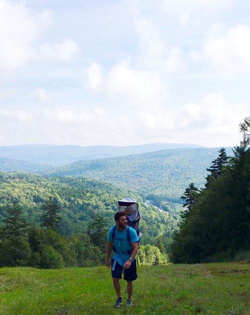 Hiking Snowshoe Mountain