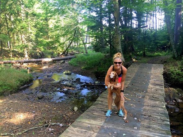 Julie Sadie Hiking