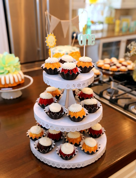 Nothing Bundt Cakes Bundtinis Cupcake Tower