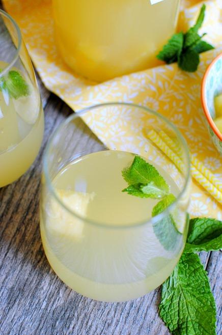 Pineapple Mint Sangria