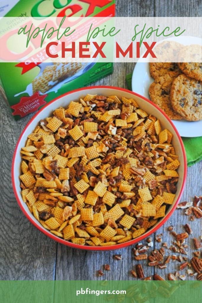 Apple Pie Spice Chex Mix