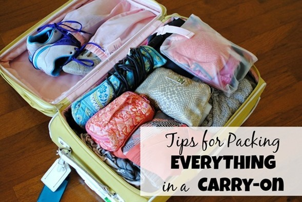 How To Pack Everything in a Carryon Suitcase