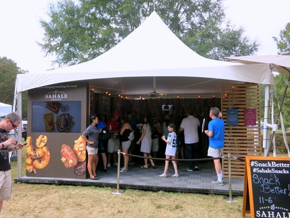 Sahale Snacks Festival in the Park