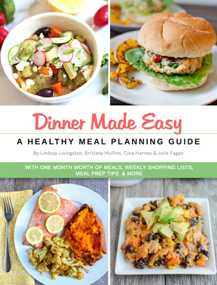 Dinner Made Easy - One Month Healthy Dinner Meal Plan