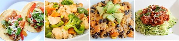 Easy Healthy Dinner Meal Plan