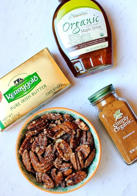 Maple Cinnamon Twice Baked Sweet Potatoes Ingredients