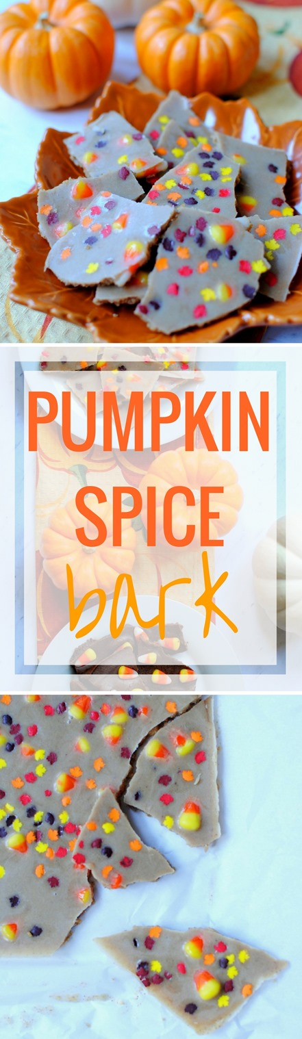 Pumpkin Spice Bark (Easy, healthy and made with coconut oil!)